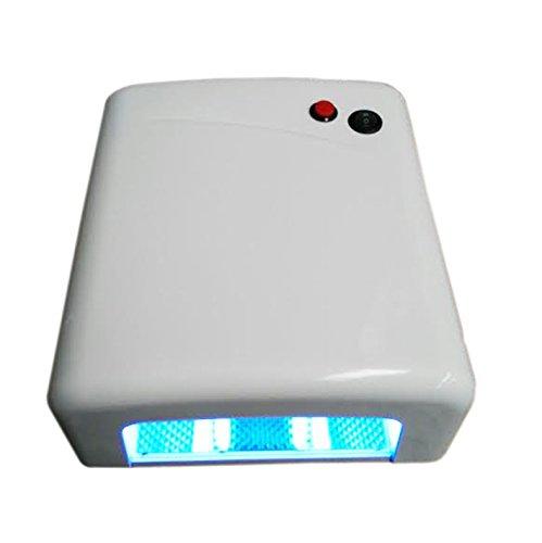 Fologar Lámpara Manicura Secador para Uñas Gel 36W BLANCO BRILLANTE