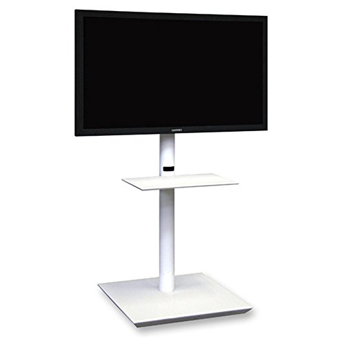 Itb Solution Handy Maxi Supporto Tv, Bianco Raggrinzito, H 152 cm