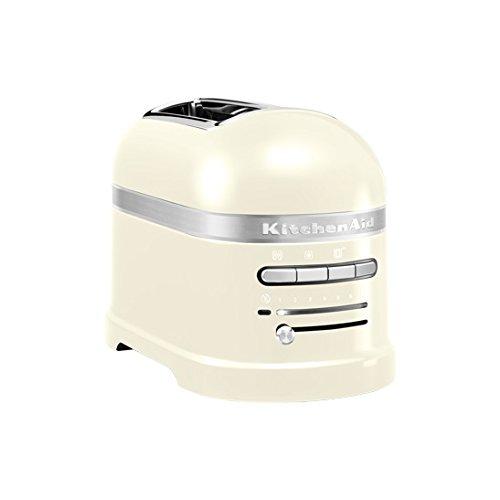 Kitchenaid - 5kmt2204 eac - Grille-pains 2 fentes 1250w crème Artisan