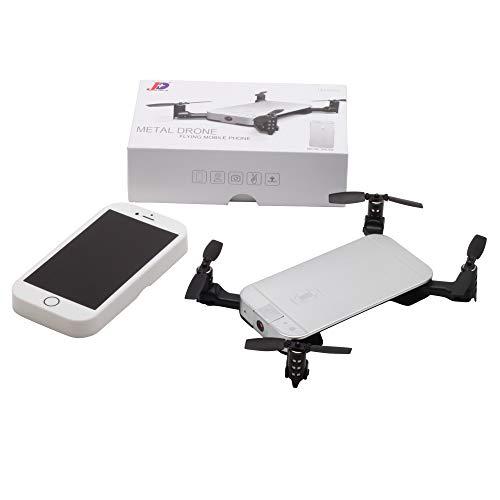 LanLan Giocattolo Telecomandato, Regalo Compleanno/Natale, JXD520 Mini RC Drone Pieghevole con...