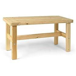 Finnsa Sauna de asiento Bancos Aliso de madera