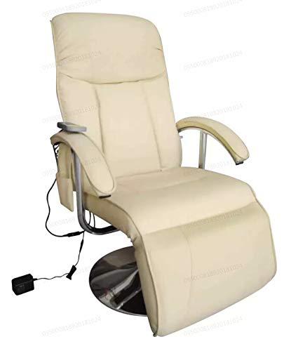 Lettino Massaggio Elettronico , Poltrona Relax Reclinabile - Oakome vidaXL Tavolo da Massaggio in Pelle Artificiale 137 x 68 x 104 cm
