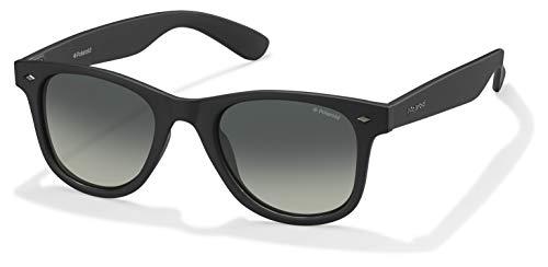 Polaroid PLD 1016/S LB gafas de sol, Negro (Matte Black/Green Sf Pz), 50 para Hombre