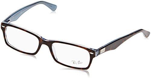 Ray-Ban-0rx-5206-5023-54-Monturas-de-Gafas-para-Hombre-Top-Havana-on-TR-Azure