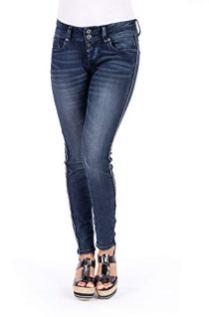 Blue Monkey Damen Jeans Side Stripe Mary