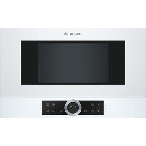 Bosch Serie 8 BFR634GW1 forno a microonde Incasso Solo microonde 21 L 900 W Bianco