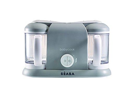 Béaba Babycook Plus - Robot de cocina, color gris