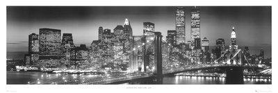Empire 170187 Poster XXL da porta'New York - Manhattan Morning' ca. 158x53 cm