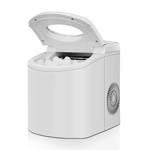 Macchina Da Ghiaccio Portatile Desktop Fast Ice Da Casa, 15kg (33lb) Ogni 24 Ore, Preparazione Del...
