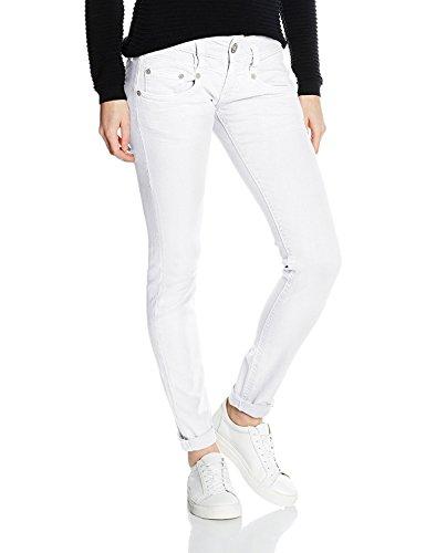 Herrlicher Damen Hosen Jeans Jeanshose Pitch Stretch Straight (Weiß,...