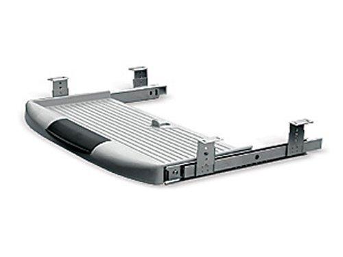SO-TECH® Tastaturauszug Tastaturablage Tastaturschublade grau PC Tastatur Auszug
