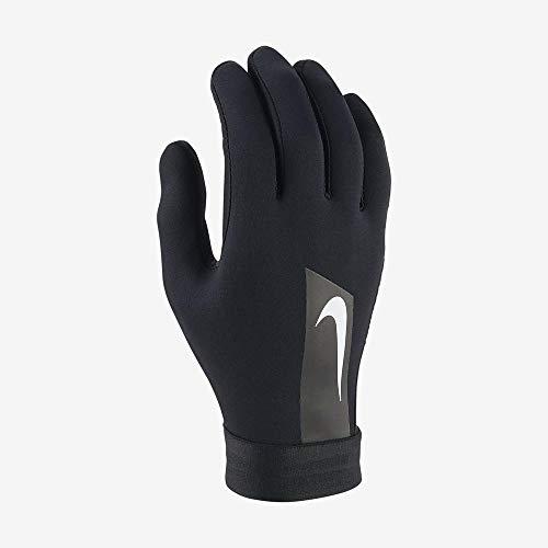 Nike Hyperwarm Academy, Guanti da Calcio Unisex - Adulto, Black/(White), S