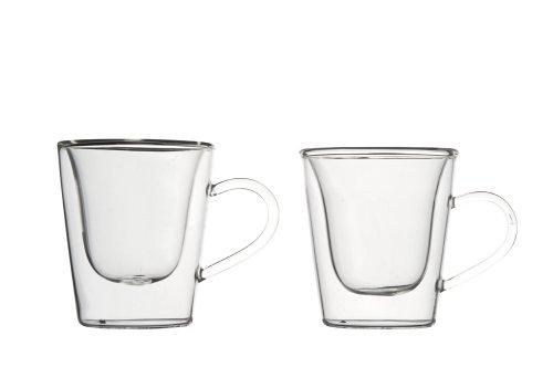 Luigi Bormioli Term Duos Confezione 2 Tazzine Espresso, Altro, 2 Pezzi, 2 unità
