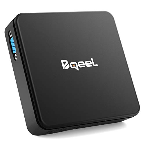 Bqeel Windows 10 Mini PC TX85 / Intel Cherry Trail Z8350 /4GB+64GB / Intel HD Graphics 400 /...