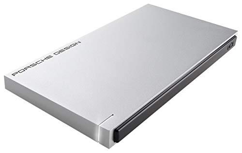 2 TB LaCie STET2000403 Porsche Design USB3.0 Disco rigido esterno portatile da 2,5'per PC/MAC