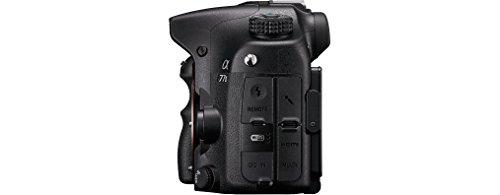 "Sony Alpha ILCA77-M2 - Cámara réflex digital de 24.3 Mp (Pantalla 3"", estabilizador, vídeo Full HD, WiFi), negro - solo cuerpo"