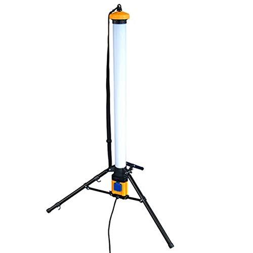 LED-Röhren-Baulampe Baustrahler 36W 360 Grad Kaltweiß 6000K Leistung 3600 Lumen Mit Kabel und eingebauter Steckdose