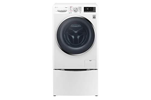 LG F4J7VY2WD_F8K5XN3 lavatrice Libera installazione Caricamento frontale Bianco 9 kg 1400 Giri/min...