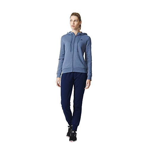 adidas Damen Essentials Linear Trainingsanzug