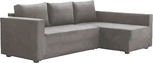 Solo copertine! Il divano non è incluso! Grey Friheten Sofa Cover Luce Heavy Duty cotone è su...