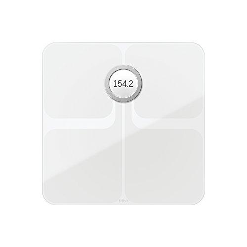 Fitbit Aria 2 Intelligente WLAN-Waage White One Size