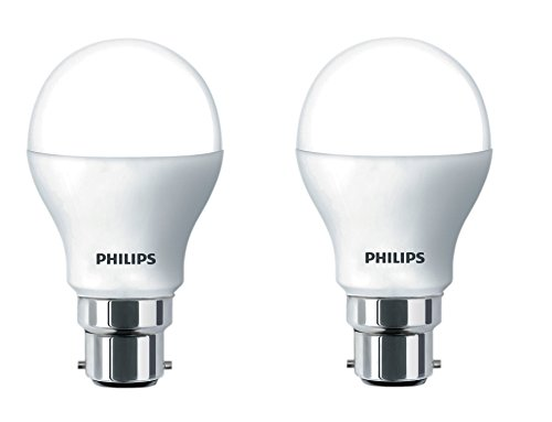 Philips Stellar Bright B22 14-Watt LED Bulb (Cool Day Light and Pack of 2)