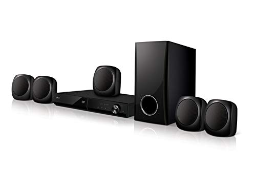 LG LHD427 sistema home cinema 5.1 canali Nero