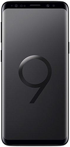 """Samsung Galaxy S9 - Smartphone de 5.8"""" (4G LTE, Wi-Fi, Bluetooth 5.0, Octa-Core 4 x 2.7 GHz, 64 GB de ROM, 4 GB de RAM, Dual SIM, cámara de 12 MP, Android 8.0 Oreo) Negro - Otra versión Internacional"""