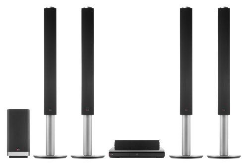 LG BH9540TW Sistema Home Theater con lettore Blu-Ray 3D, 9.1 Canali da 1460W, Ultra HD Upscaling, Wi-Fi integrato, Compatibile Bluetooth