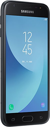 "Samsung Galaxy J3 (2017) SM-J330F SIM Doble 4G 16GB Negro - Smartphone (12,7 cm (5""), 2 GB, 16 GB, 13 MP, Android, Negro)- Versión Extranjera"