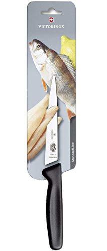 Victorinox COLTELLO da cucina coltello per sfilettare, Küchenmesser Filetiermesser schwarz 16 cm...