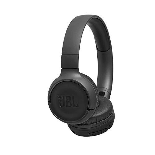 JBL Tune500BT Cuffie Wireless Sovraurali On-Ear Bluetooth, con Funzione Multipoint e Ricarica Veloce, Connessione a Siri e Google, fino a 16 h di Autonomia, Nero