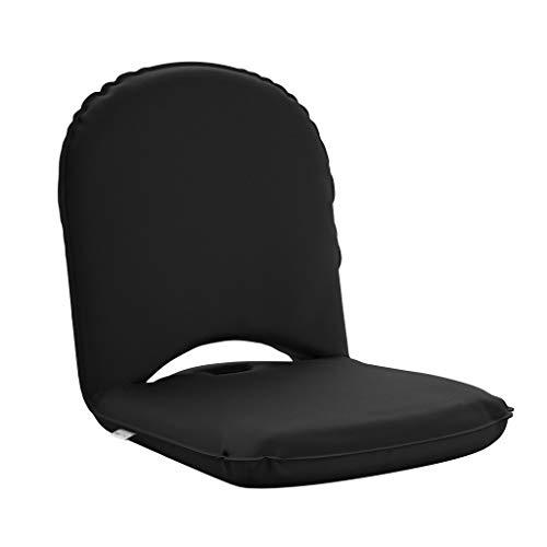 BonVivo Easy Smart, praktischer Mehrwinkel-Bodenstuhl, tragbares Boden-Sitzkissen mit Verstellbarer Rückenlehne, Klappstuhl mit wasserdichter Abdeckung, ideal als Innen- und Außenbodenstuhl geeignet