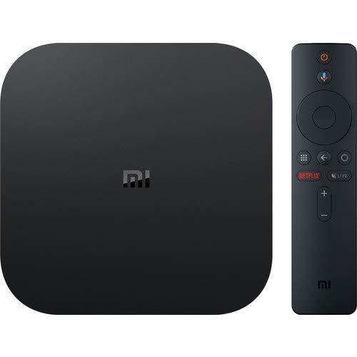 Xiaomi PFJ4086EU - Mi Box S - Boitier TV Multimedia Android TV 8.1 Ultra HD 4K, HDR, Chromecast et télécommande avec Micro/Version EU