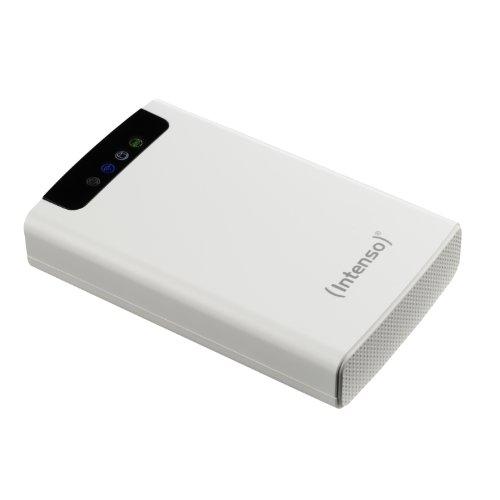 Intenso 6025561 HDD Esterno, 2.5 Pollici, USB 3.0, 1000 GB, Autoalimentato, Bianco, 5400 RPM, 600...
