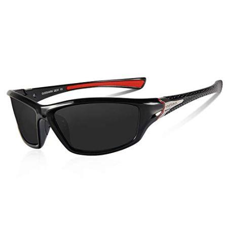 Queshark-Gafas-de-Sol-Deportivas-Polarizadas-Para-Hombre-Perfectas-Para-Esquiar-Golf-Correr-Ciclismo-TR990-Sper-Liviana-Para-Hombre-y-Para-Mujer