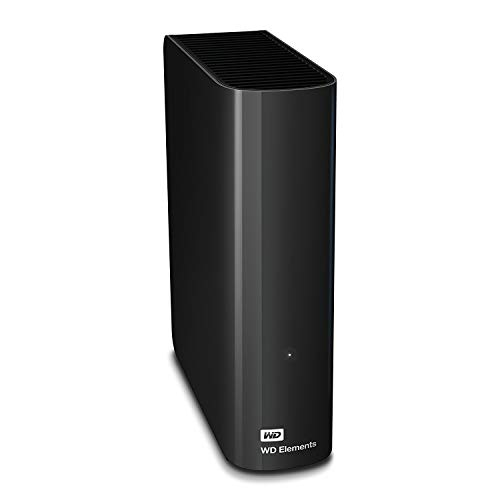 WD Elements Desktop 2TB - Hard Disk Esterno, USB 3.0