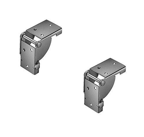 1 Paar – GedoTec® Klappbeschlag Klappkonsole Tischklappenbeschlag klappbar für Tischbeine und Bänke | Stahl verzinkt | für Tisch-Füße 38 x 38 mm | Markenqualität für Ihren Wohnbereich