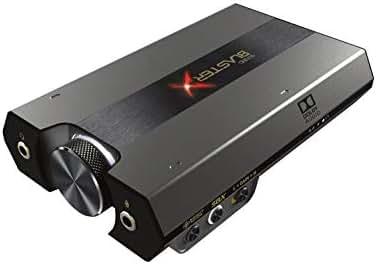 Sound BlasterX G6 7.1 HD Externe Gaming-DAC- und USB-Soundkarte mit Xamp-Kopfhörerverstärker für PS4, Xbox One, Nintendo Switch und PC