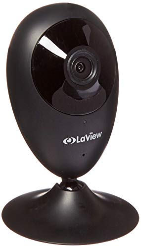 Home Security Camera, LaView ONE Dot 1080P HD WiFi Wireless IP Camera, Supports Alexa & IFTTT, Motion Detection, Night Vision, Two-Way Audio, Baby/Nanny/Pet Monitor, Cloud Service Available (Black)