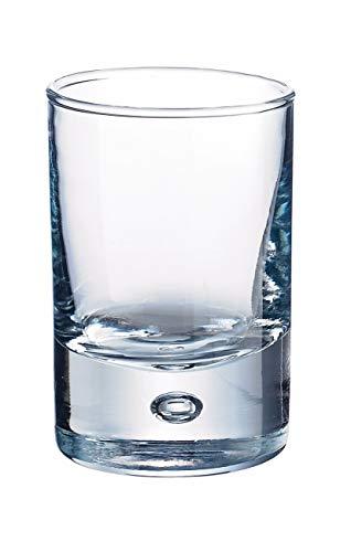 Durobor 347/05 Disco Amuse-Bouche/bicchierino da grappa 50ml, 6 bicchieri, senza contrassegno di...