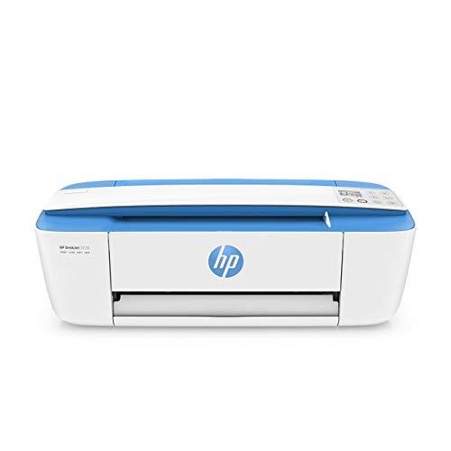 HP DeskJet 3720 Stampante Multifunzione con 3 Mesi di Prova Gratuita del Servizio Instant Ink, Blu