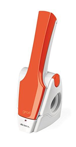 Ariete 447 - Rallador eléctrico, 25 W, color blanco y naranja