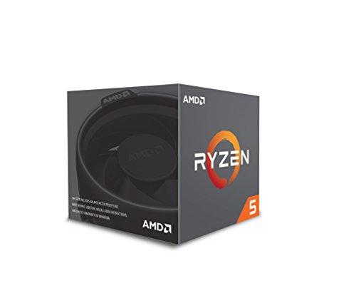 AMD YD2600BBAFBOX Processore RYZEN5 2600 Socket AM4 3.9Ghz Max Boost, 3,4Ghz Base+19MB