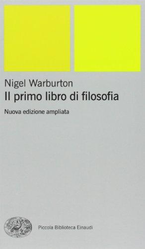 Il primo libro di filosofia