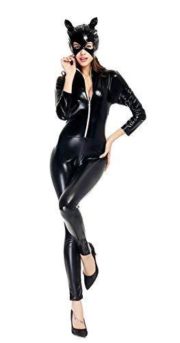 LifeWheel - Disfraz ajustado de Catwoman para Navidad o Halloween