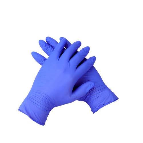 100pcs guanti in lattice usa e getta tatuaggio anti-acido guanti resistenti agli alcali resistenti...