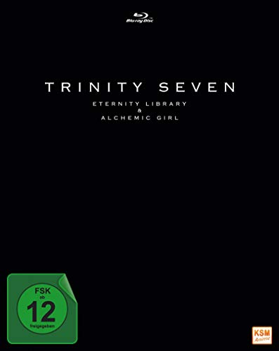 Trinity Seven - Eternity Library and Alchemic Girl - The Movie [Blu-ray]