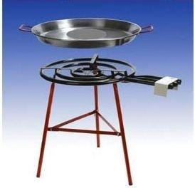 """Paella Grillset \""""Carmona\"""" mit 3-flammigem, 60cm Gasbrenner (24,5 KW), 80cm Pfanne, verstärkte Füsse, incl. Schlauch und Druckminderer"""