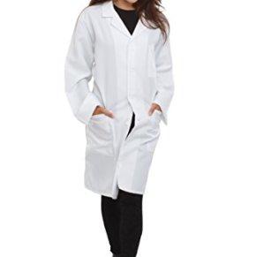 Dress up America - Disfraz Unisex Doctor Lab Adultos y niños, 160 - 168 cm (857)